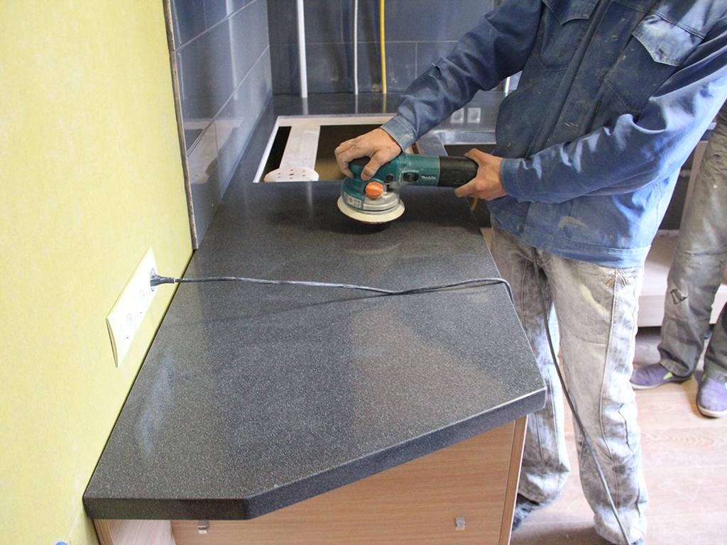 Как очистить столешницу из искусственного камня